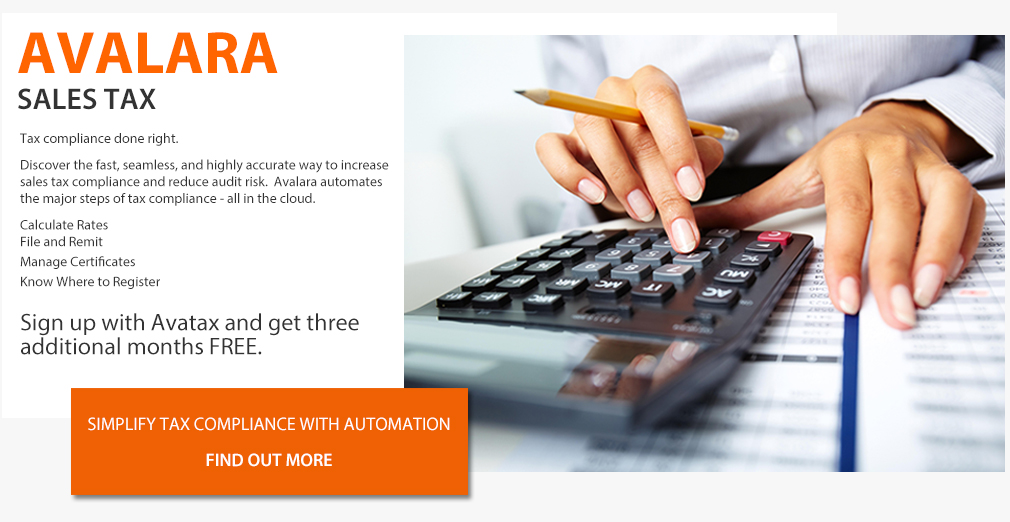 Find out more about Avalara Sales tax software